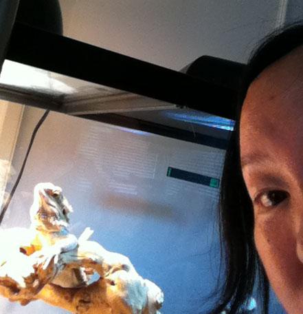 selfie with stumpy